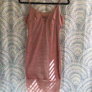 New BLVD velvet slip dress size Small